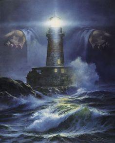 'I am the Light' print