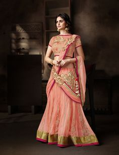 Shop N1022 - Designer Wedding Lehenga Choli by Mahotsav Creation Pvt Ltd online. Largest collection of Latest Lehangas online. ✻ 100% Genuine Products ✻ Easy Returns ✻ Timely Delivery