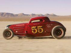 Hot Rod. Desert.