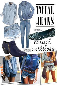 Total Jeans! #trend #winter2013 #viamarte
