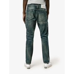 e0cc504cc0 Neighborhood  Eastwood Savage  jeans (£630) ❤ liked on Polyvore featuring  men s fashion