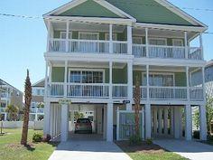 Surfside Beach house rental - 'Palm Tree Paradise'