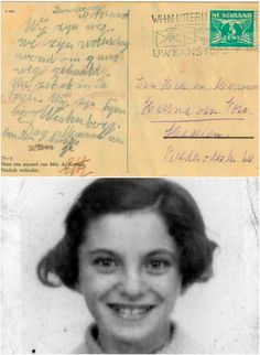 Etty Heerma van Voss (b. June 16, 1931). She was born out of wedlock, and was sent to the Jewish Orphanage in the Dutch town of Leiden. On March 17, 1943, the children and staffmembers of the orphanage were arrested by the Nazi's and deported to the Dutch transition camp of Westerbork. Etty wrote a postcard to relatives on the train detailing the arrest. On April 13, 1943, she was deported to the Polish extermination-camp of Sobibór, and was murdered there on April 16. She reached the age of…