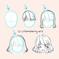 how to draw hair by creamsherry: https://media.giphy.com/media/3oEhmVKZPbr23YtEEU/giphy.gif