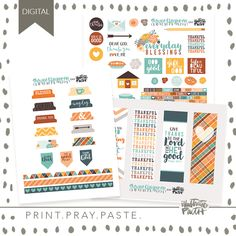 New November Releases for Print & Pray! Mary And Martha, Faith Bible, Illustrated Faith, Scrapbook Journal, Pray, Blessed, Just For You, The Incredibles, Journaling
