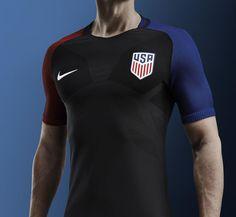 USA 2016 Copa America Centenario Nike Home & Away Shirts - Football Shirts News - blue mens shirt, mens navy blue long sleeve shirt, white shirt *ad