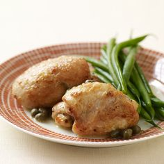 Sauteed Chicken Thighs with Lemon and Capers | Weight Watchers
