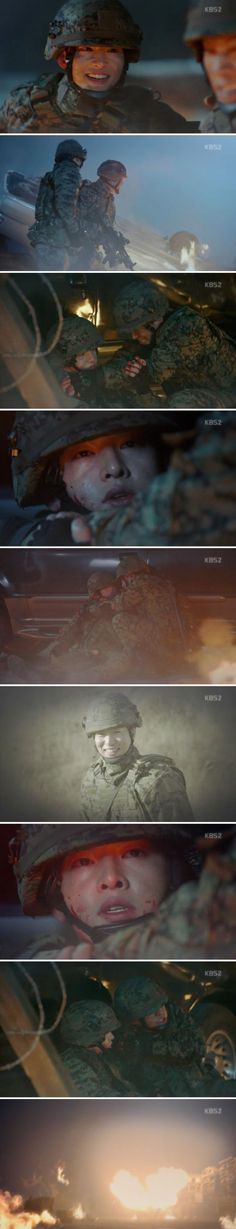 [Spoiler] Added episode 15 captures for the #kdrama 'Descendants of the Sun'