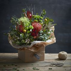Natural Elegance Native Inspired Box of Flowers