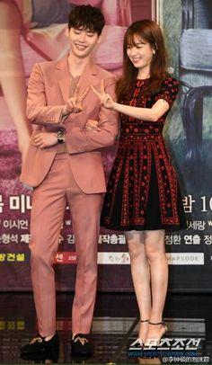 Lee Jong Suk - W Two Worlds Presscon 2016.07.18 Cr. Logo