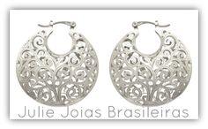 Brincos em prata 950 (950 silver earrings)