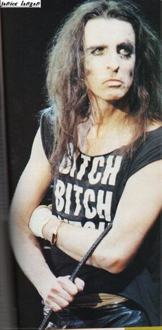 Alice on the Special Forces tour, courtesy of Janice Langan. Love that tee.