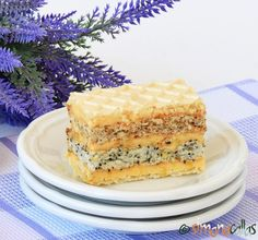 Prajitura Furnicuta Romanian Desserts, Vanilla Cake, Coco, Caramel, Sweet Treats, Cheesecake, Sweets, Cookies, Knits
