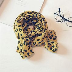 Leopard scarfs for all occasions.Made of cotton material. Soft , lightweight, comfortable to wear. Kendall Charcoal, White Strawberry, Yellow Clothes, Air Force Blue, Leopard Scarf, Happy Colors, How To Wear, Yellow Outfits, Cheetah Scarf
