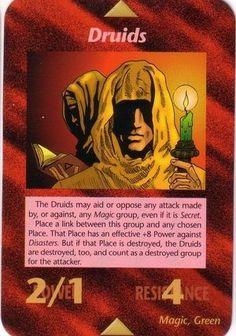 Illuminati Card Game - Druids