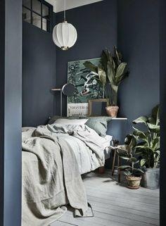 Nice 57 modern small bedroom design ideas for home. Modern Bedroom Decor, Stylish Bedroom, Bedroom Vintage, Decoration Bedroom, Bedroom Ideas, Diy Bedroom, Small Bedroom Inspiration, Budget Bedroom, Scandinavian Bedroom