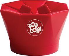 Chef'n PopTop Microwave Popcorn Popper (Cherry) Chef'n