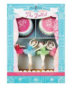 Take a look at this Ballet Cupcake Kit by Meri Meri on #zulily today!