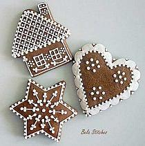 Pierniki na Stylowi.pl Christmas Sweets, Christmas Decorations, Christmas Ornaments, Holiday Decor, Decoupage, Sugar, Desserts, Boards, Diy