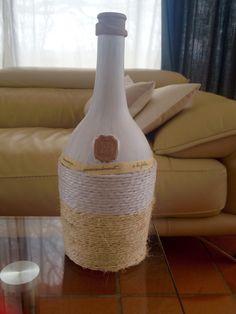 Bottle design/coloring/rope and sticker/interior idea