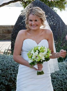 The gorgeous Jen on her wedding day!
