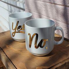 #mug #cup #easytiger #yesmug #nomug Fine Paper, Paper Gifts, Mugs, Tableware, Dinnerware, Tumblers, Tablewares, Mug, Dishes