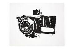 cool camera print