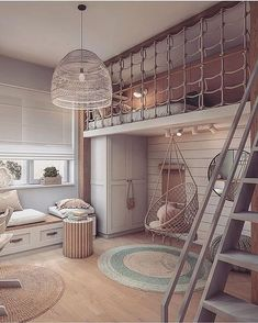 Kids Bedroom Designs, Room Design Bedroom, Home Room Design, Kids Room Design, Room Ideas Bedroom, Bedroom Decor, Playroom Design, Bedroom Small, Cozy Room