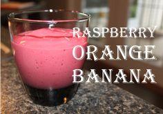 Raspberry Orange Banana