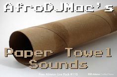 FREE ABLETON LIVE PACK - Paper Towel and Local Cafe Sounds