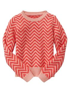 GAP Chevron Sweater.