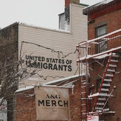 """One of the remarkable murals of this year: """"United States of Immigrants"""" in Brooklyn, New York by New Icy & Sot."""