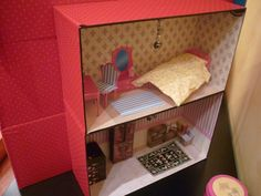 Dollhouse backside diy