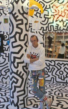 Keith Haring Jm Basquiat, Pittsburgh, Artist Workspace, Keith Haring Art, Arte Pop, Street Artists, Teaching Art, Famous Artists, Graffiti Art