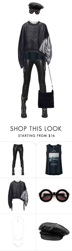 """""""Rebel Rebel"""" by ladomna ❤ liked on Polyvore featuring Ann Demeulemeester, Uniqlo, Marni, Wildfox, MANGO and Zimmermann"""