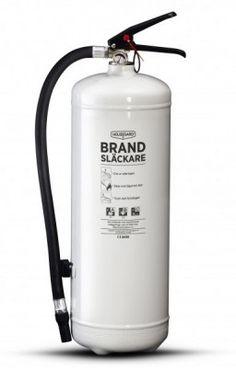 Brandsläckare HOUSEGARD - 6kg, vit