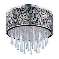 Maxim Lighting 22291 5 Light Rapture SemiFlush Semi Flush Ceiling Light, Satin Nickel