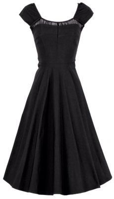 This black swing dress is perfect for all occasions. It is pretty bland but hey, dress it up or down!