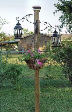 It is peaceful and relaxing, through a beautiful, sloping flower garden - Gartenprojekte - Design RatBalcony Plants tan Furniture Garden Yard Ideas, Diy Garden, Lawn And Garden, Garden Projects, Garden Art, Garden Design, Backyard Ideas, Garden Posts, Garden Office