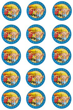 PatyCake: Bob the builder...Toppers