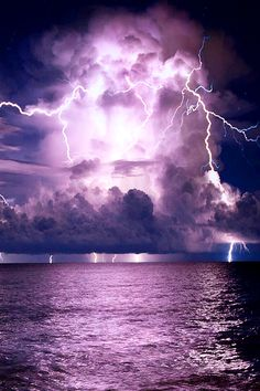 Lightning at Coral Cove Park