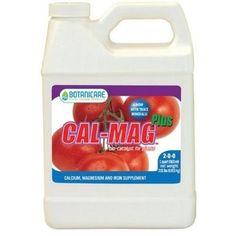Amazon.com: Botanicare Cal Mag Plus Plant Nutrient Supplement, 2-0-0, 1-Quart: Patio, Lawn & Garden