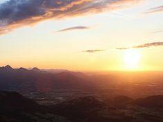 25.08.2015 - Sonnenuntergang bzw. Abendstimmung @ Hochrießhütte, Rosenheim, Bayern (DE)
