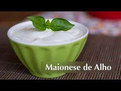 ▶ Receita de Maionese de Alho (Vegan) - YouTube