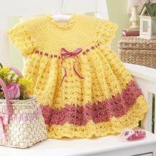 Herrschners®  Spring Blossom Dress Crochet Yarn Kit