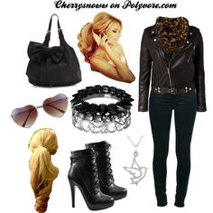 I love this rock chic outfit, nevertheless it's made by me :D