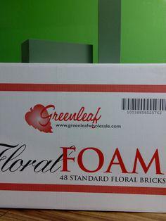 Floral Wet Foam Available at Greenleaf Wholesale Florist Phoenix (602) 264-3781 www.greenleafwholesale.com
