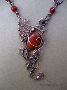 Ooooooh... Pretty! Have to try this next time I make jewelry!