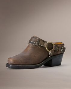 Belted Harness Mule - Women_Shoes_Clogs & Mules - The Frye Company