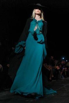 Saint Laurent Spring 2013 Ready-to-Wear Fashion Show - Elsa Sylvan (OUI)